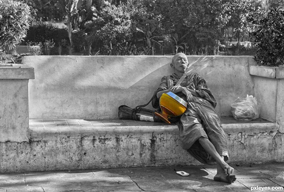 The Begging Bowl at Rest