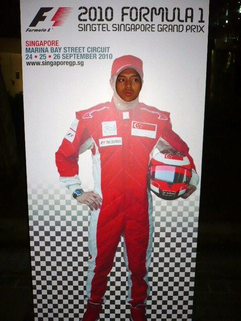 The new F1 racer!