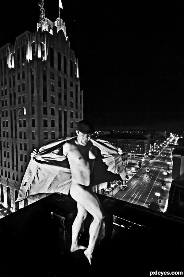 Rooftop Pervert ;)