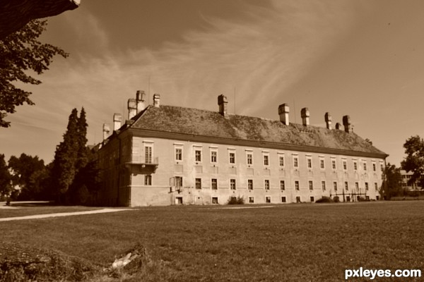 Mansion of Count Palffy...
