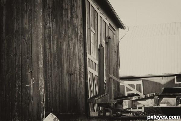 Side of a Barn...