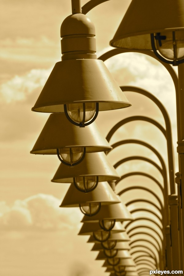 Sepia Lights
