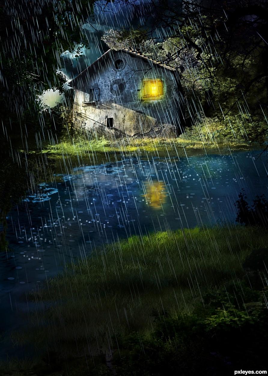 Evening Shower