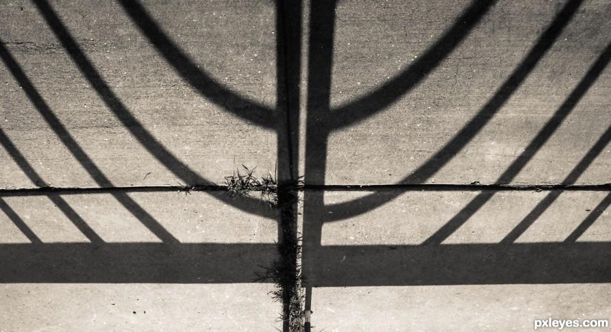 Menorah Shadow
