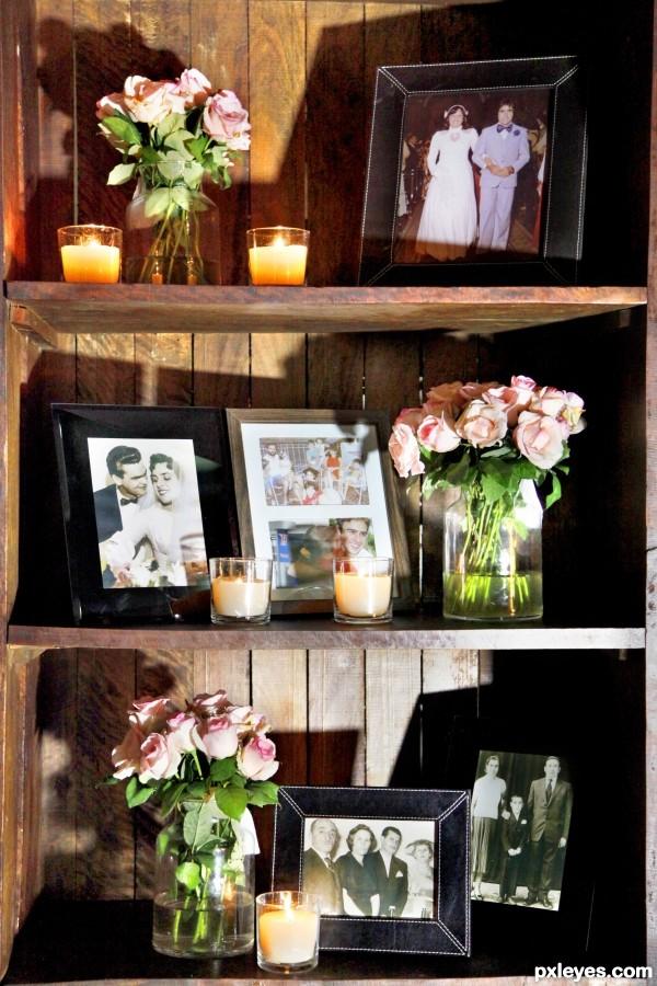 shelf of memories