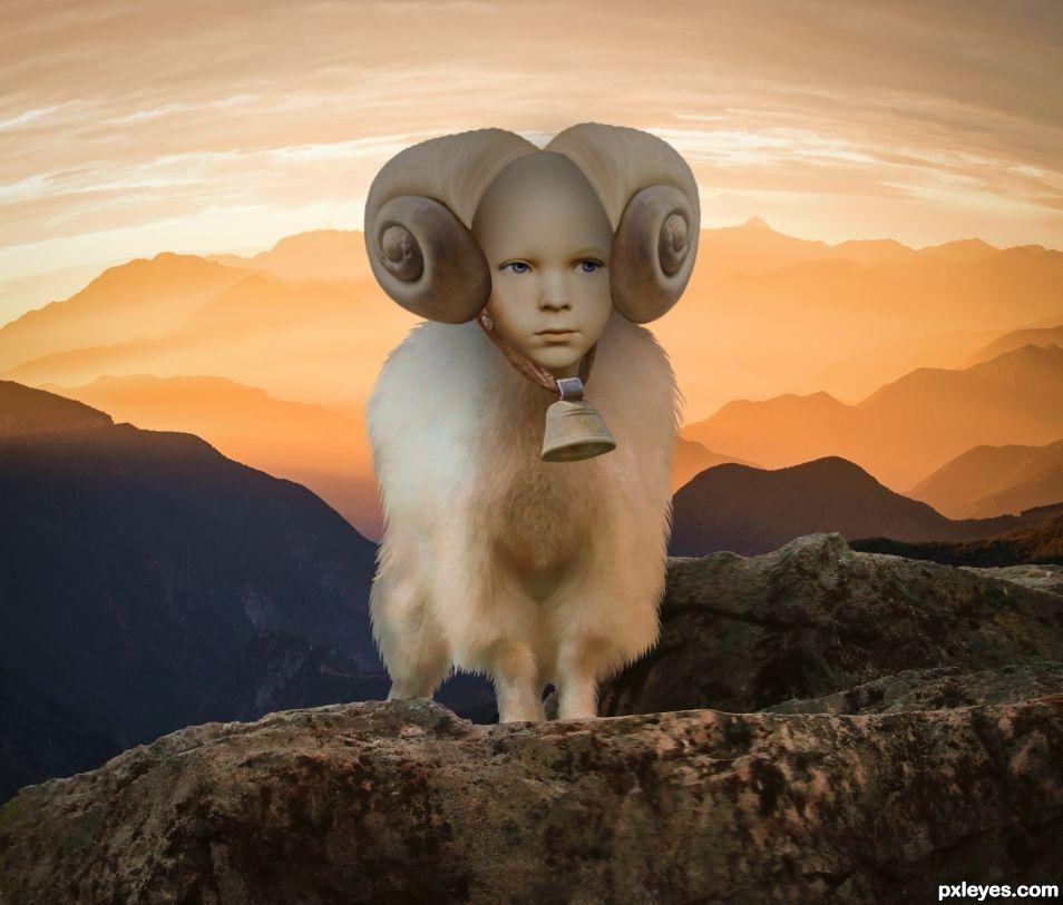 Goat child