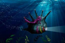 The Elusive Purple Mermaid