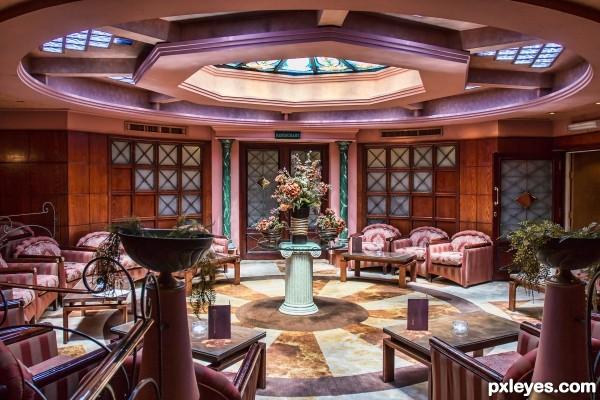 lounge on ship