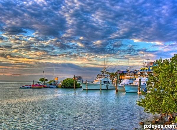 Morning light on Marina