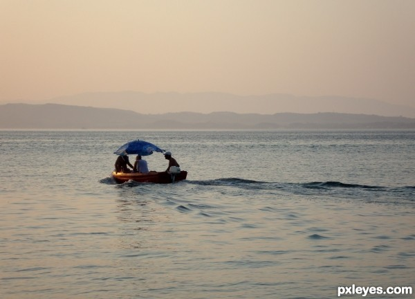 donkey islands greece