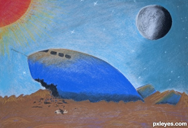 Lost Spaceship