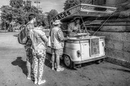 Chocolate ice cream, please...