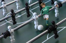 Mini soccer champion
