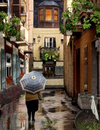 Rainy Day in Sicily