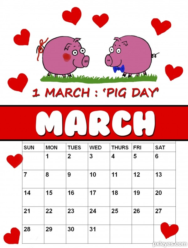 1st March : Pig Day !