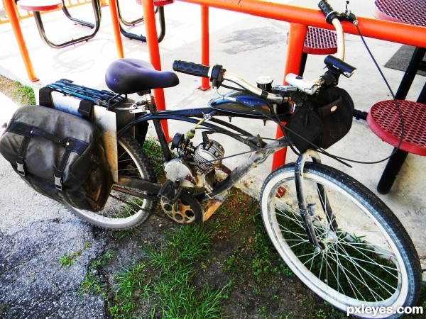 Poor Mans Motorcycle