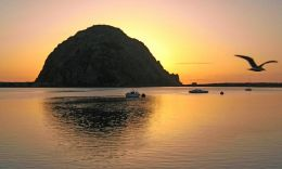 Sunset @ Morro Rock