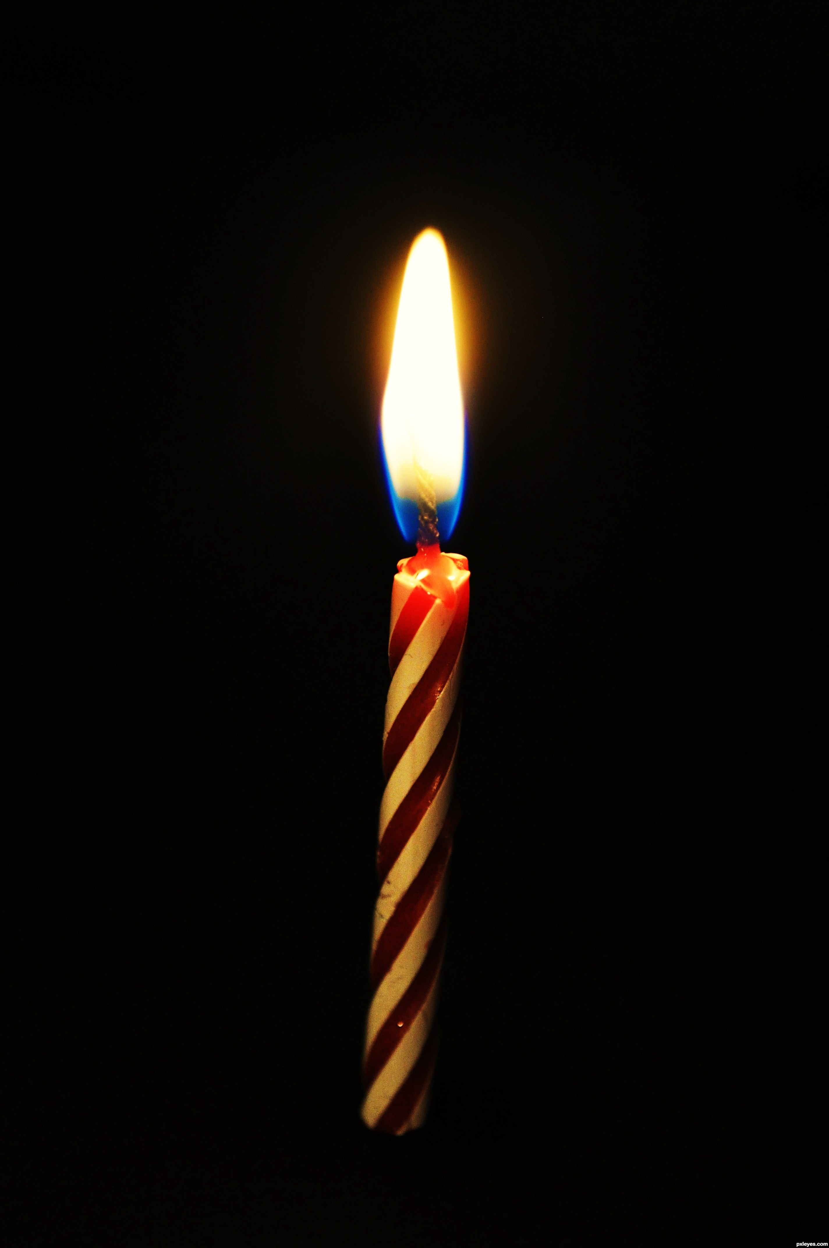 birthday candle - created by blackxhijd