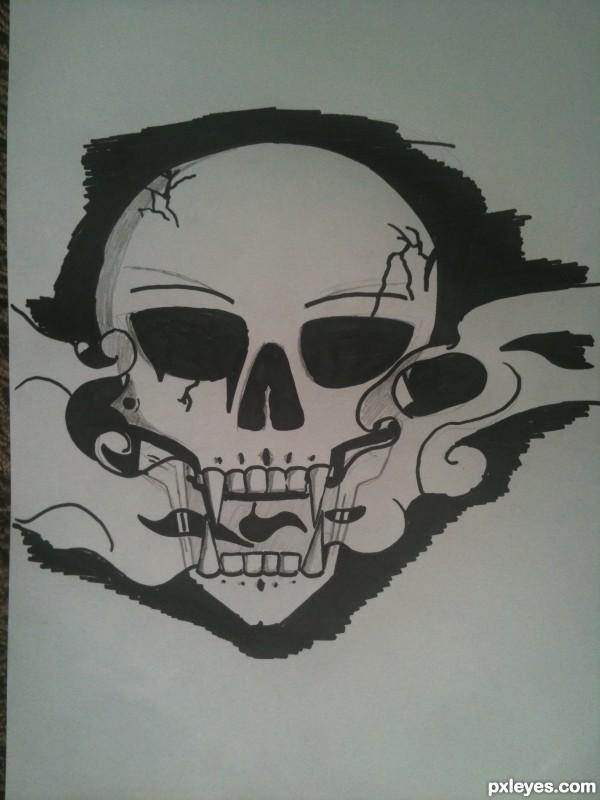 Smoky Skull