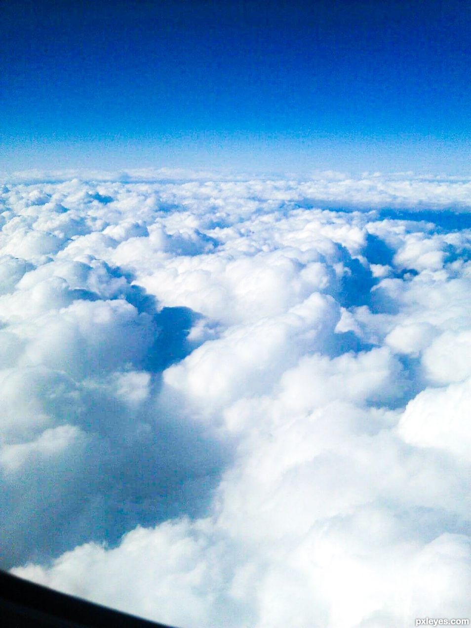 Over the clouds and far away