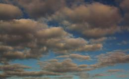 The Simpsons clouds. Picture