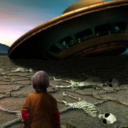 UFO Crash Witness Picture
