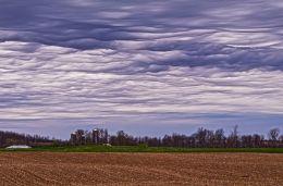 Mammatus Clouds Picture