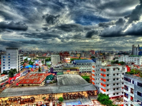 My City from My Window