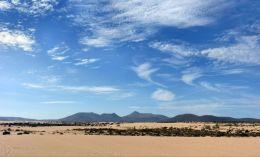 Sand and Blue Sky