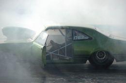 Tyre smoke