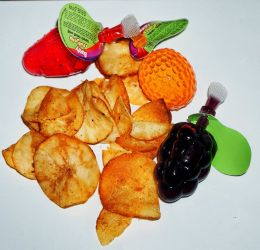Cassava Chips with Drinking Jelly