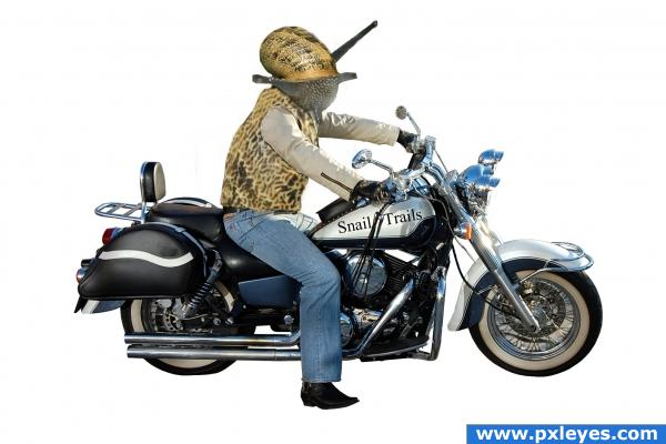 Snail Motorcycler