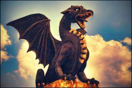 Denim Dragon Picture