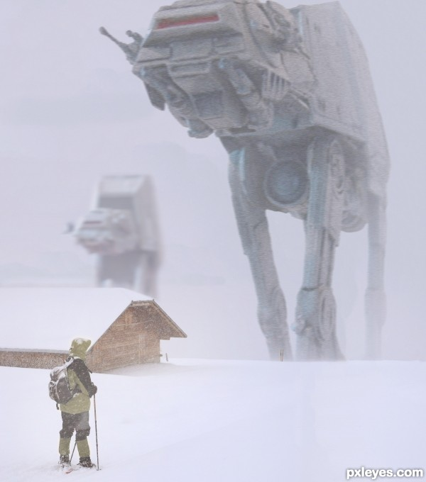 giant snow camels