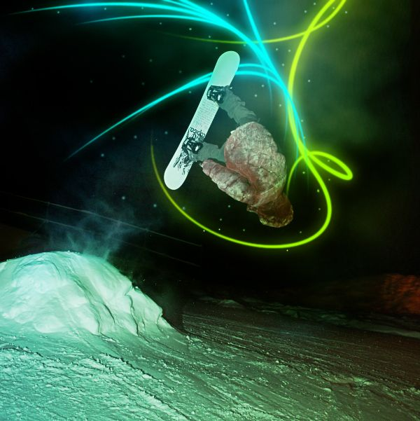Lighted Snowboard