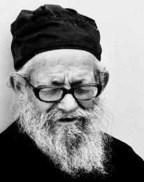 Father Eusevios-Resting