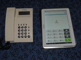 Telephone to ipad