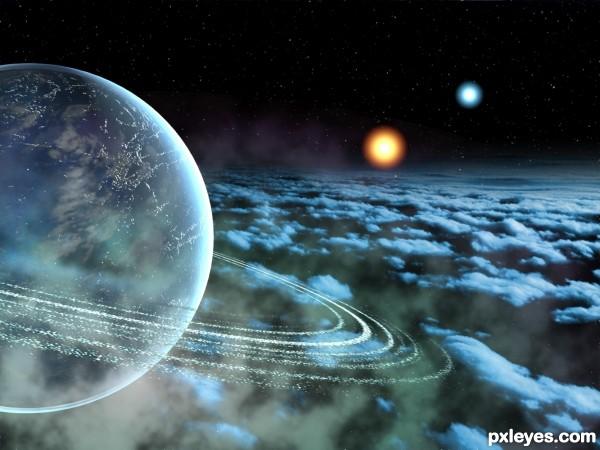 Ice Planet Of Zentar Prime