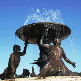 Triton Fountain Picture
