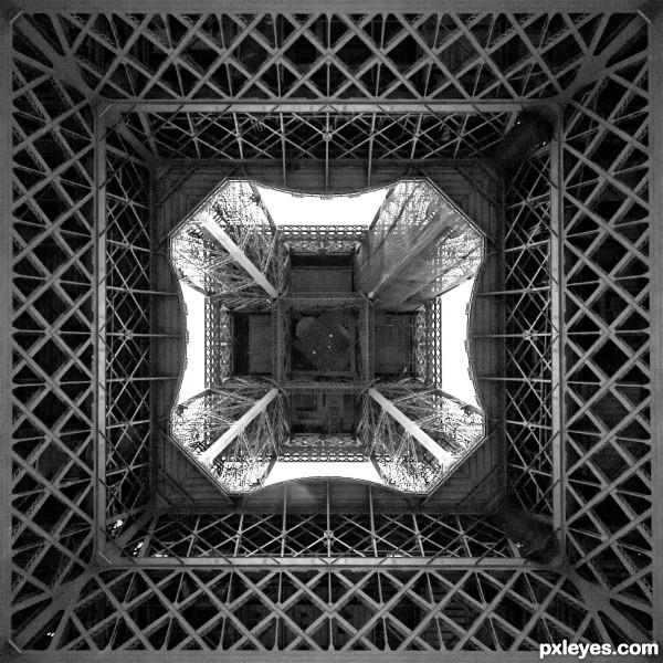 Underneath the Eiffel