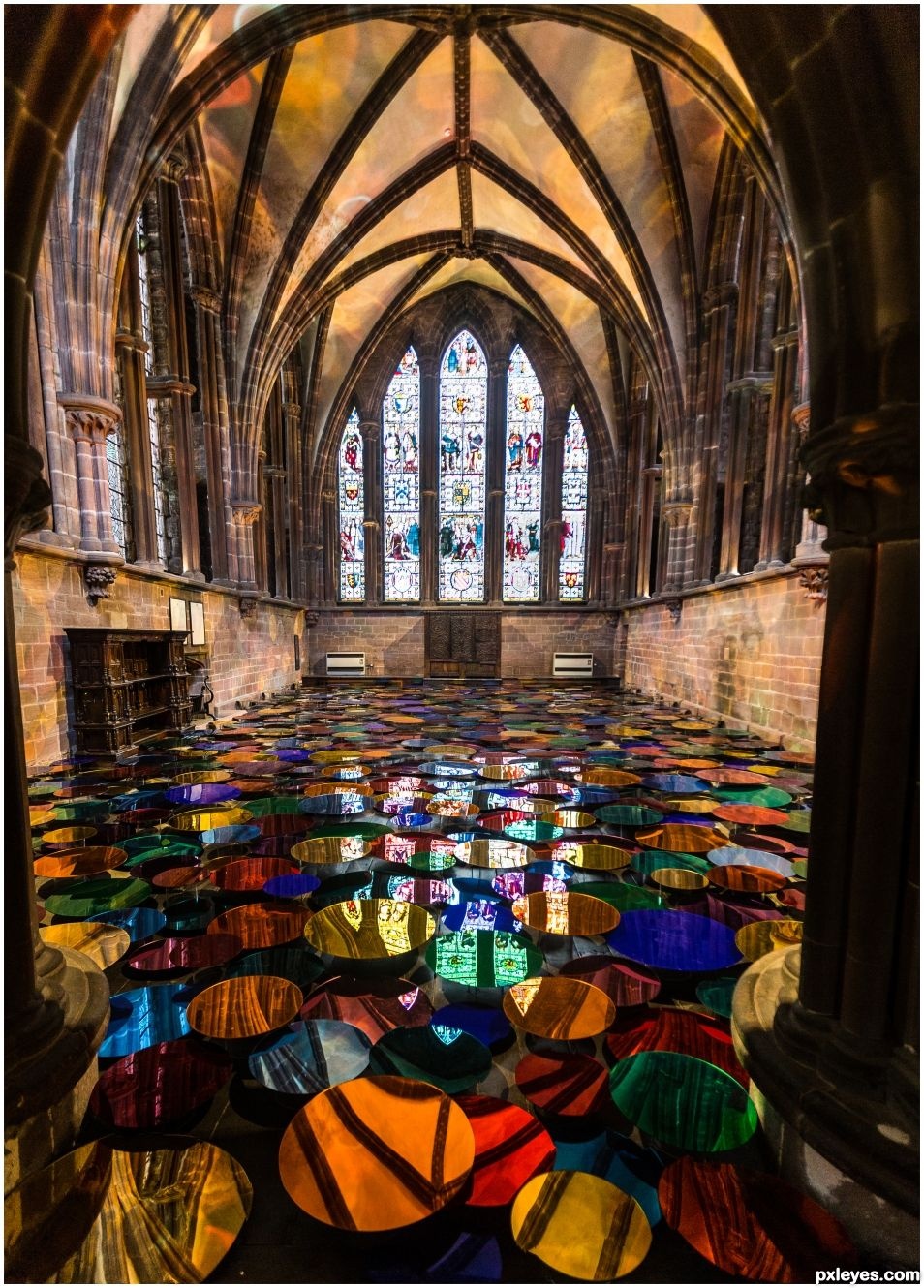 Chester Cathedral - festival of colour