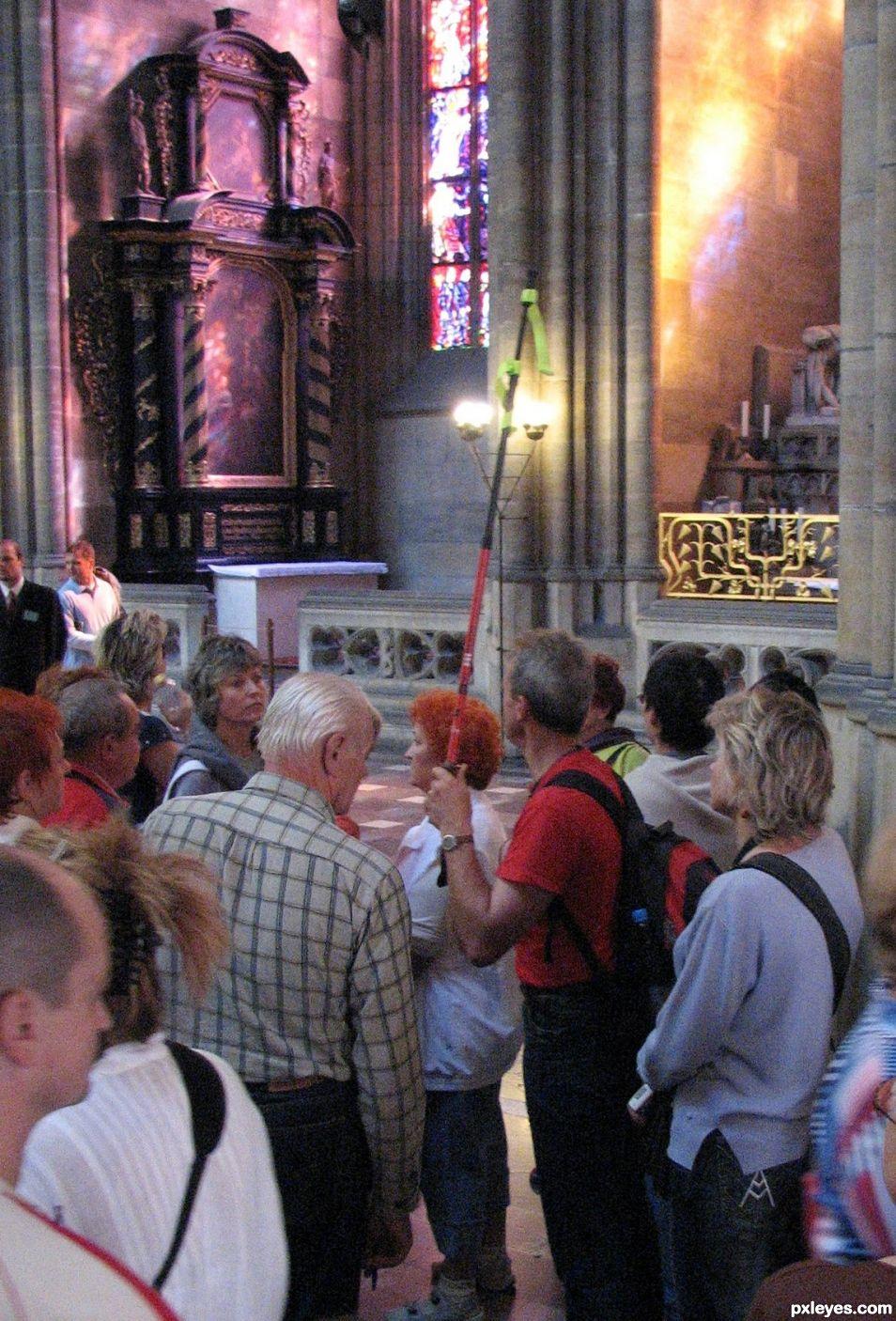 Entry number 105903 Tour Guide Wenceslas Cathedral, Prague, Czech republic