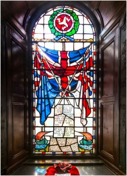 Window of Remembrance, St Lupus Church