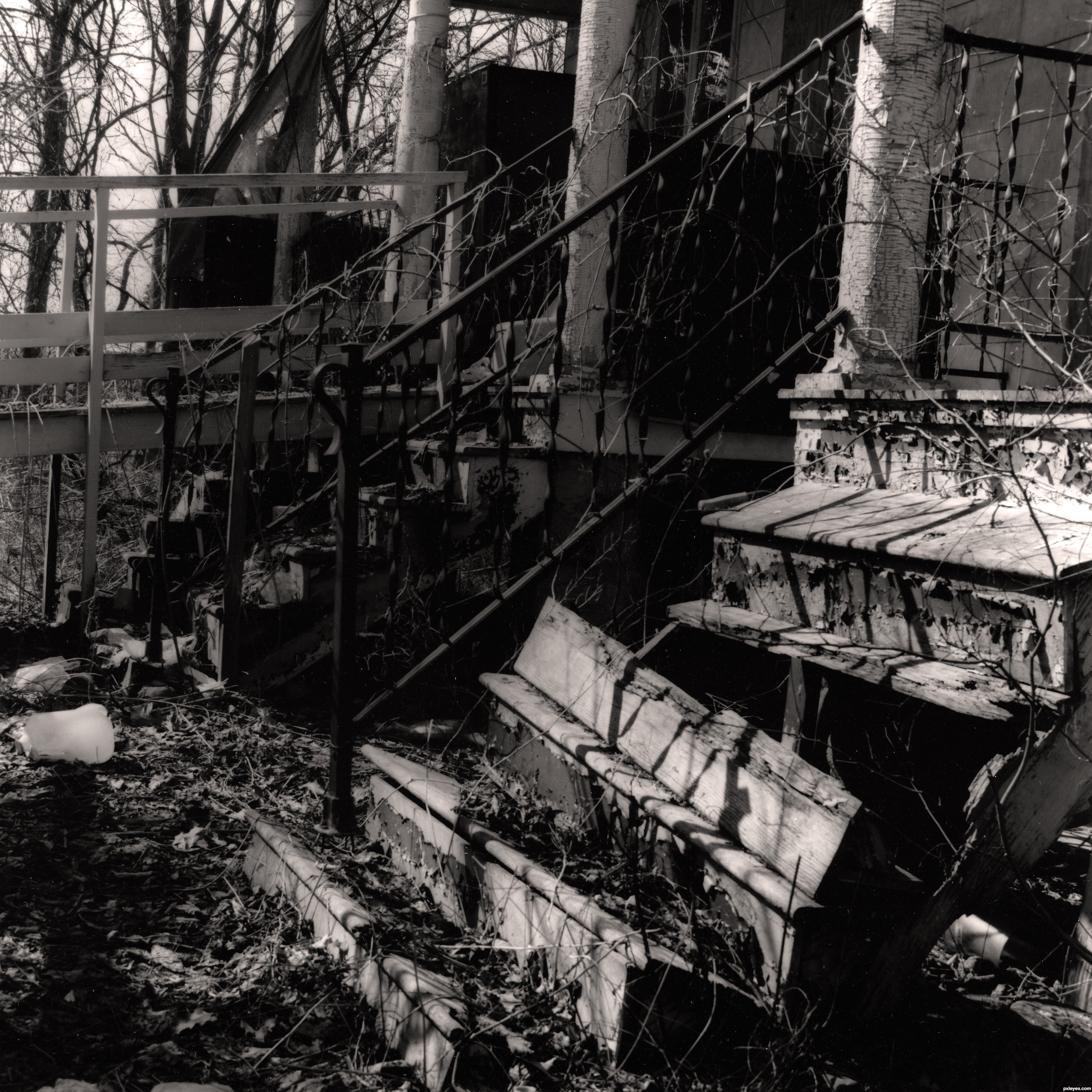 Broken stairs picture, by jtpobrien for: stairs ...