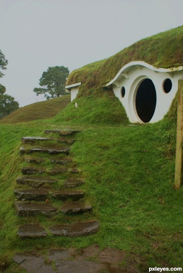 Hobbit stairs