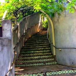 Tiled Stairs Picture