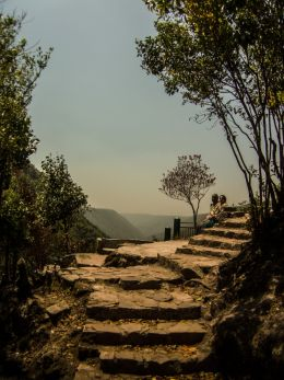 Stairs to Heaven, literally, there is nothing beyond that point :)