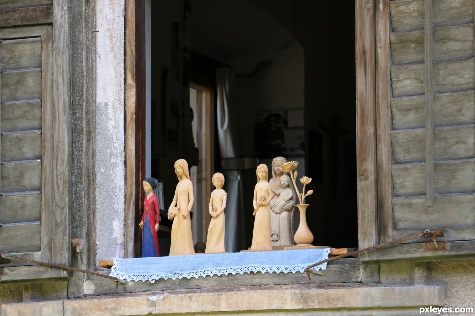 the sculptors window