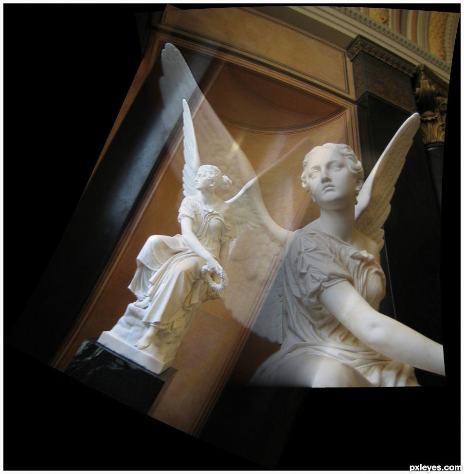 Angel - Doble Exposicion