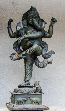 Ganesha outside a local eatery